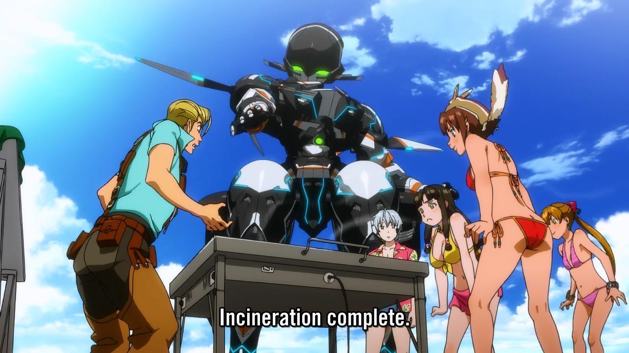 """Suisei No Gargantia """"How will you survive in an alien environment ..."""
