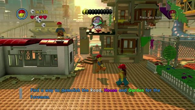 The LEGO Movie Videogame GamePlay